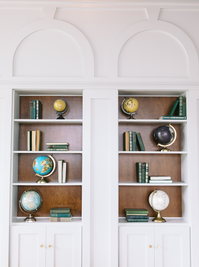 Bookshelf at Northside office